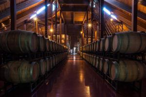 Chappellet-barrel-room---photo-by-Bob-McClenahan